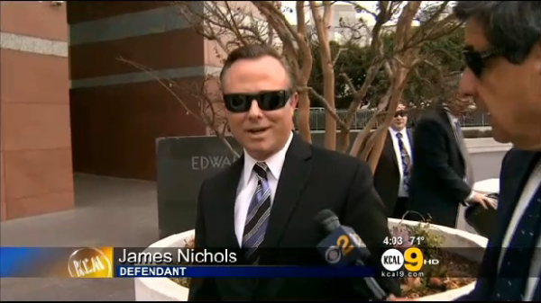 Here is James Nichols, one of the alleged LAPD RAPIST BASTARDS who got off - along with Luis Valenzuela - for raping sex workers amongst other informants!