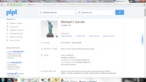 Mike Siordia Address Info
