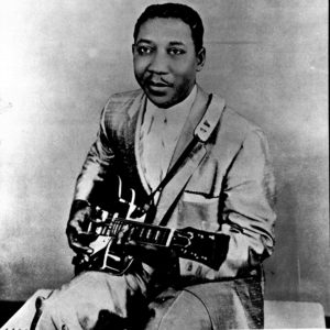 Muddy Waters, one of the many black men who Elvis the KKKulture Vulture stole from!
