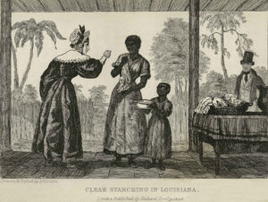 "The white feminists ""freeing"", oops, I mean,scolding her negro slave woman and child!"