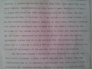 Note Thalia Buitron lies and says that she called the cops when they were already there as can be seen here: