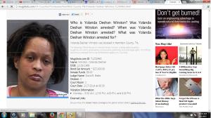Yolanda Winston Mugshot Adrian Waite