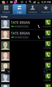 Brian Tate Phone Calls OBSESSED