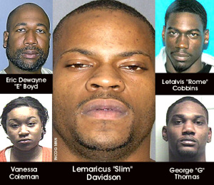 Look at these ugly NIGGERS here. To see why I said that, read about the murders of Channon Christoan and Christopher Newsome right here: http://www.crimelibrary.com/notorious_murders/classics/christian-newsom/a-young-couple-disappears.html I wish they had far WORSE than pepper spray to avert what those fucking NIGGERS did to em, fucking beasts!