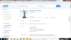 Mike Siordia Address Info