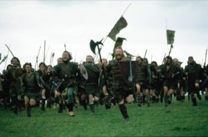 "These niggas wore dresses, err, I mean ""kilts"" - you gonna fuck with them?"