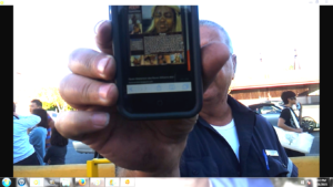 Here is another example of the SCUM Officer Siordia possibly works with, showing PORN on his cellphone to me!