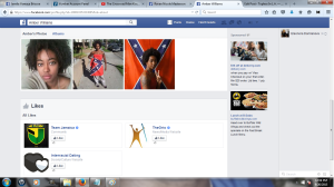 Amber Williams Facebook Profile