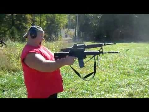 """White boy hard"": I bet those shotguns are - well THEY ARE bigger than his dick, lol"